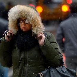 Il freddo è arrivato e fa sul serio Mercoledì si aspetta la neve