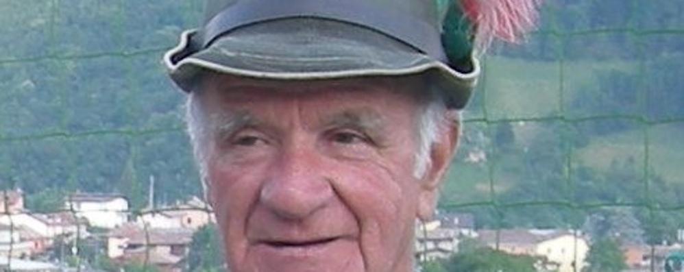 Gandino piange Gino Piazzini Malore fatale per l'ex capogruppo alpini