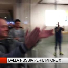 Orio - E' di nuovo 'febbre IPhone'