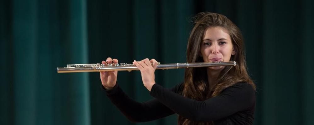 Irene, il flauto è «emozione pura» La prima intervista dei «Protagonisti»