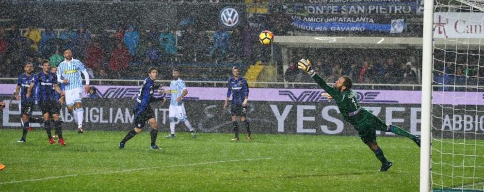 Atalanta stanca, la Spal ne approfitta Berisha salva i nerazzurri: finisce 1-1