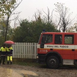 Donna trovata morta in una fossa  Indagini per omicidio a Filago - Foto