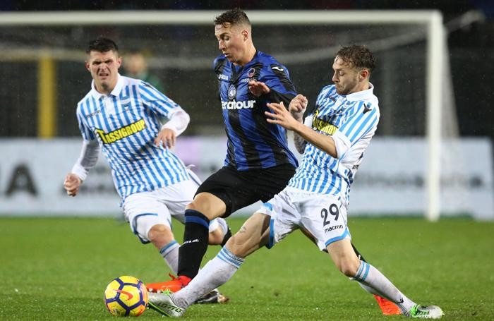 Serie A TIM 2017-18 giornata 12 atalanta - spal haas nicolas