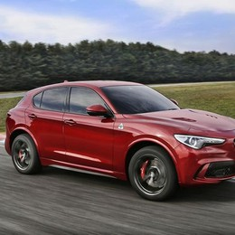 Alfa Romeo Stelvio al top con la versione Quadrifoglio