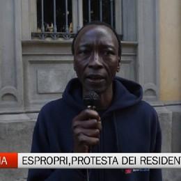 Espropri Zingonia, protesta dei residenti