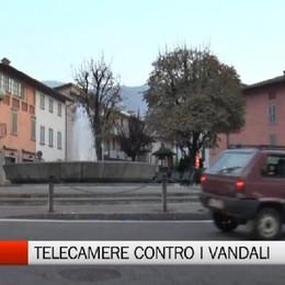 Leffe, telecamere contro i vandali