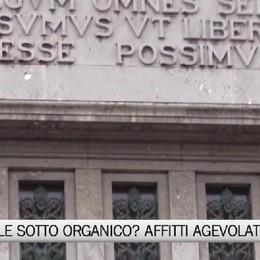 Tribunale sotto organico,affitti agevolati per attrarre personal