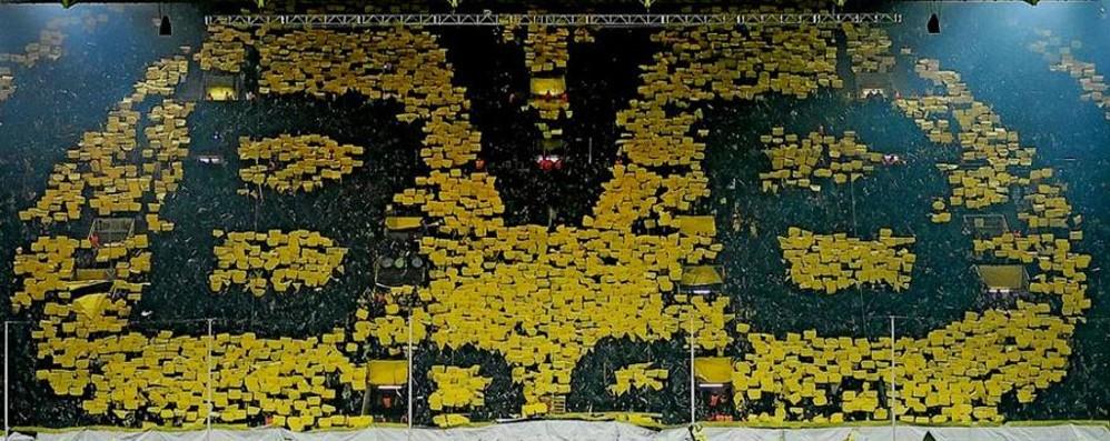 Europa, per l'Atalanta c'è il Borussia Scopri il mitico «muro giallo» di Dortmund