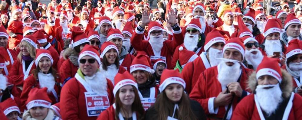 Torna la Babbo Running a Bergamo Il 24 dicembre per il sorriso di un bimbo