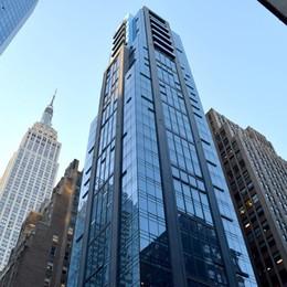 Bergamo entra nello skyline di New York Nuovo grattacielo con la Metal-Ser
