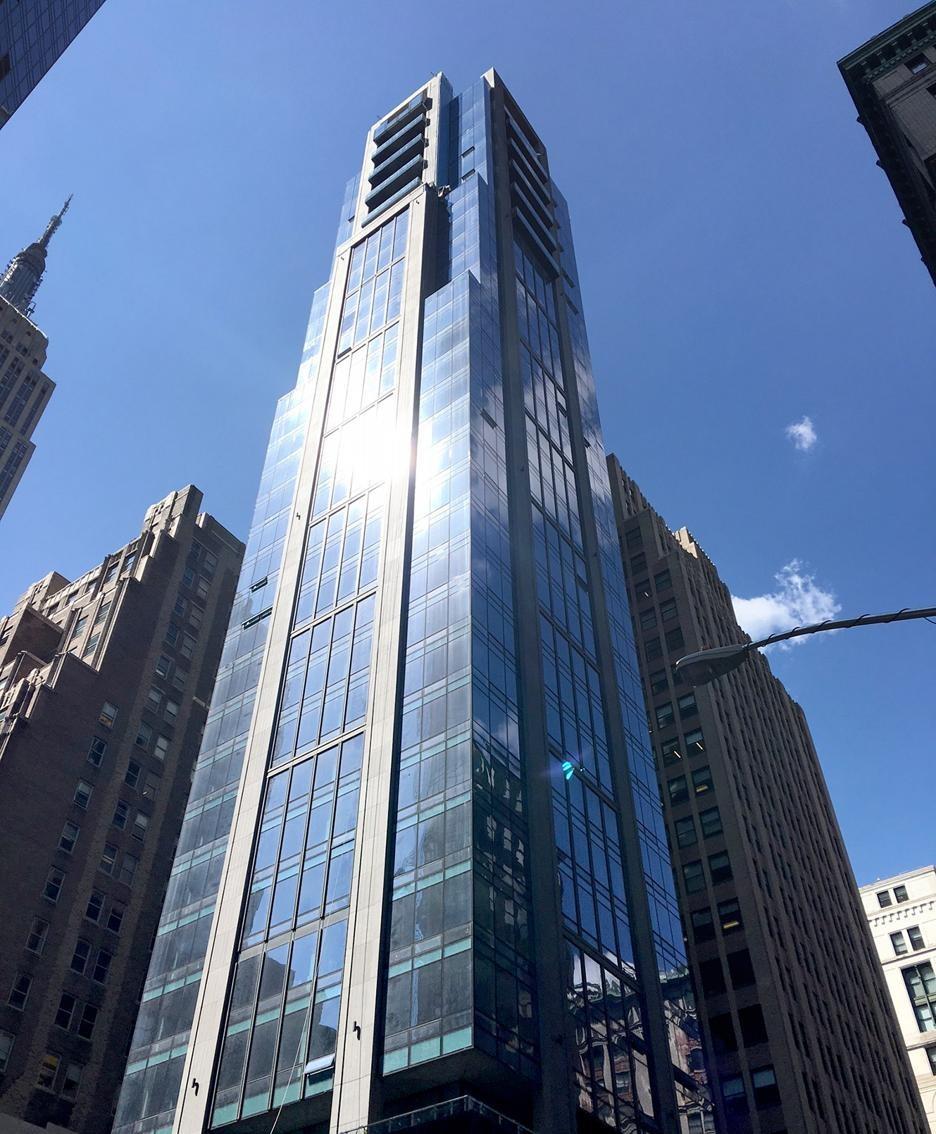 Bergamo entra nello skyline di new york nuovo grattacielo for Immagini grattacieli di new york