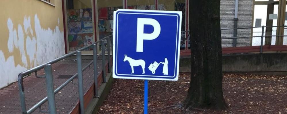 Bergamo in attesa di Santa Lucia Spunta il parcheggio per l'asinello