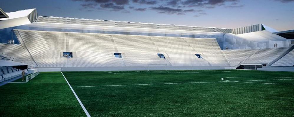 Lo stadio avrà un muro nerazzurro «Curva Nord da diecimila posti»