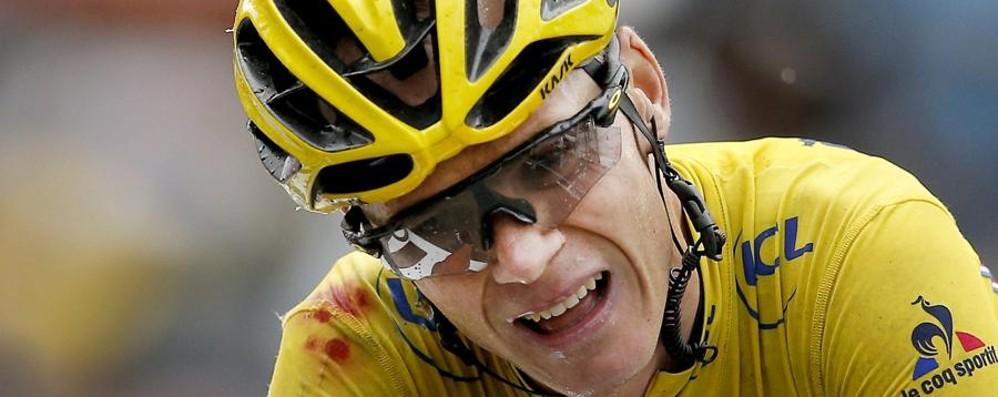 Shock nel mondo del ciclismo Froome trovato positivo alla Vuelta