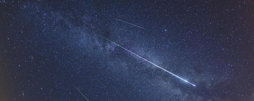 Un'altra «lunga notte» (stasera) Questa volta per le stelle cadenti