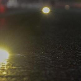Autostrada, tecnologia anti nebbia Luci e led guidano gli automobilisti