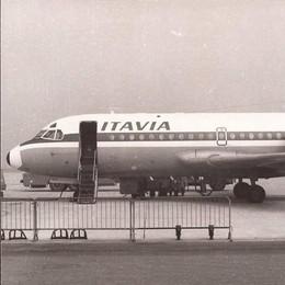 Orio in bianco e nero con Itavia - Video E Alitalia torna (dirottata) sullo scalo