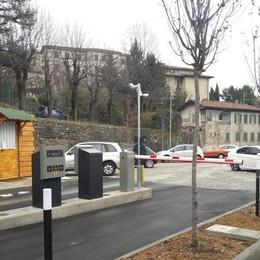 Un nuovo parcheggio in Città Alta In via Tre Armi, gratis dopo 6 ore