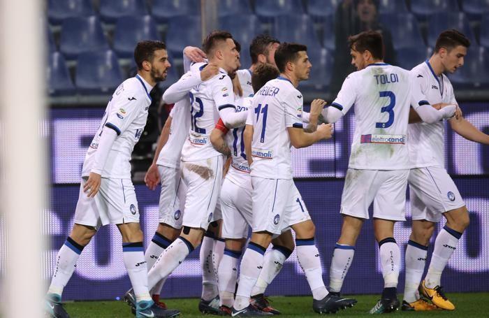 Serie A TIM 2017-18 giornata 16 genoa - atalanta dopogol ilicic 1-1