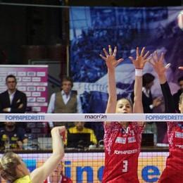Volley, la Foppa ancora ko Monza passa 3-1 al PalaNorda