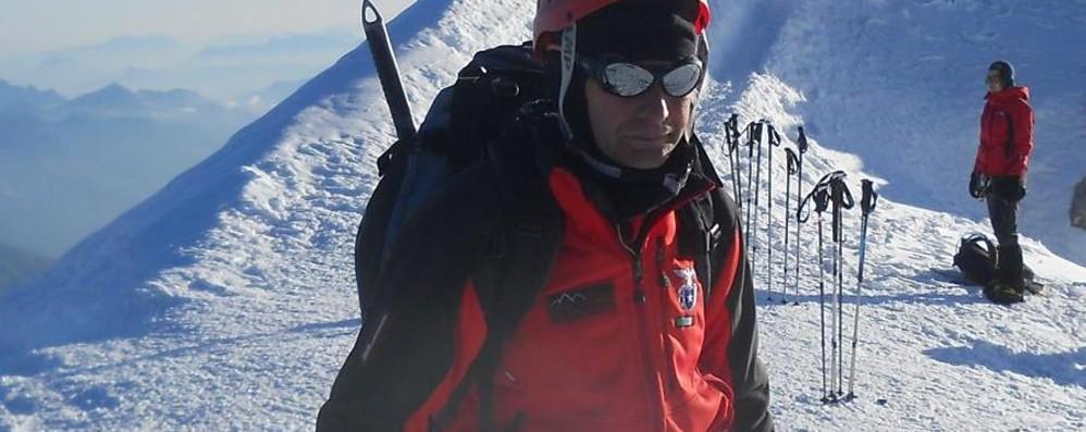 Era un escursionista esperto Calcinate piange Bruno Lorenzi
