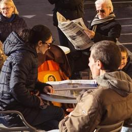 Grande festa di Natale a Ponte San Pietro E ci siamo anche noi de L'Eco café