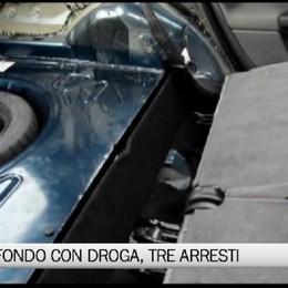 Nell'auto un doppio fondo con la droga. Tre arresti e 180 mila euro confiscati