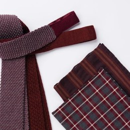 Cravatte e pochette Thomas Mason