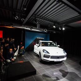 Bergamo, al Centro Porsche serata per svelare la nuova Cayenne