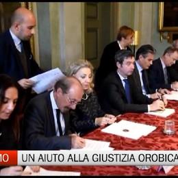 Bergamo - Una boccata d'ossigeno alla Giustizia orobica
