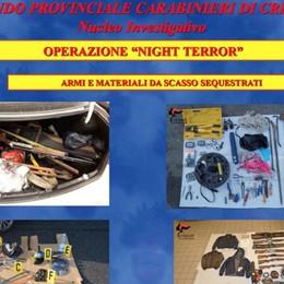 Sgominata gang di ladri seriali, 6 arresti  53 colpi nel nord Italia, anche a Bergamo