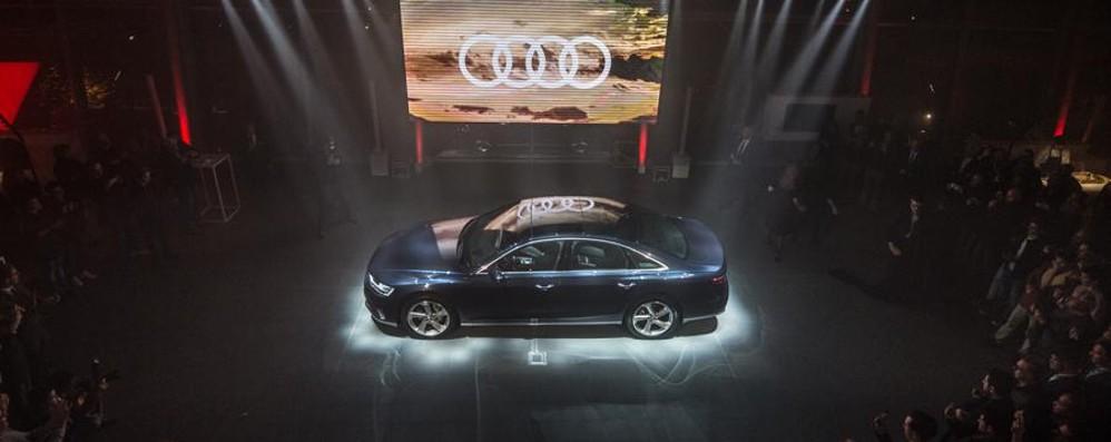 La nuova Audi A8 Design e tecnologia