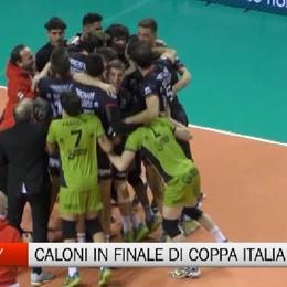 Volley maschile, Caloni Agnelli Olimpia in finale di Coppa Italia