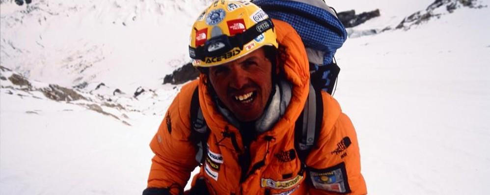 La prossima impresa di Simone Moro Sulla montagna più fredda del pianeta