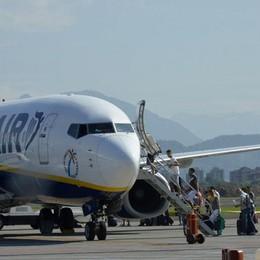 Aeroporto, 150 voli «extra» per Natale Viaggeranno 400mila passeggeri