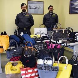 Mercato di merce contraffatta sul web Treviglio, la Finanza sequestra 4mila capi
