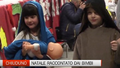 Chiuduno - I bambini raccontano la magia del Natale