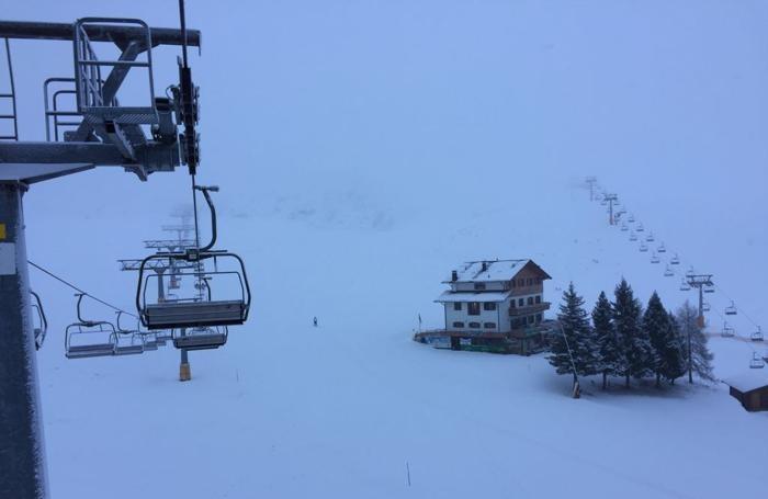 Neve ai Piani di Bobbio