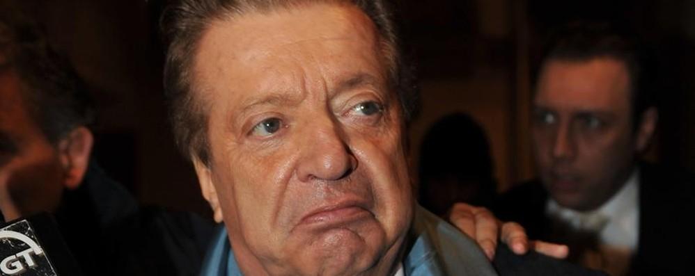 Vittorio Cecchi Gori in Rianimazione «Problema cerebrovascolare»