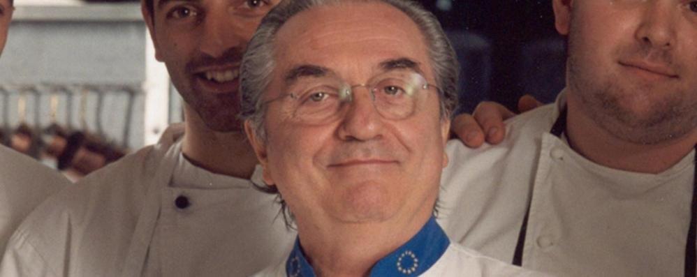 «Addio Maestro, e grazie» L'ultimo omaggio a Gualtiero Marchesi