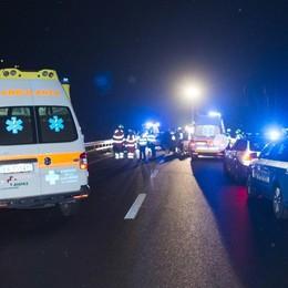 Inversione sulla tangenziale di Milano 80enne bergamasco causa incidente