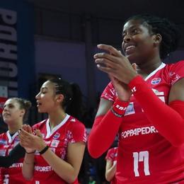 La Foppapedretti torna a sorridere Schiantata 3-0 la Sab Volley Legnano