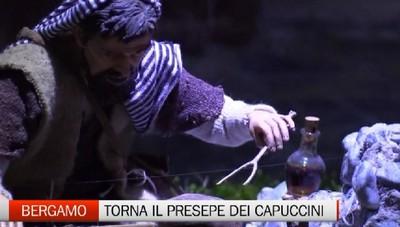 ll presepe dei Capuccini ricordando i Promessi Sposi