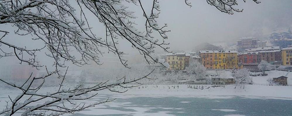 Quasi un metro di neve nelle valli Piste aperte e paesaggi da favola