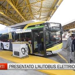 Trasporti - Presentato il primo bus elettrico: viaggerà sulla Linea C