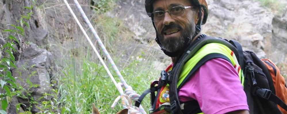Il grazie del Soccorso Alpino a Giary Pasini, 30 anni in vetta