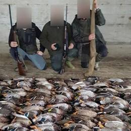 Uccidono 190 anatre e si vantano su Fb Indagini su due cacciatori bergamaschi