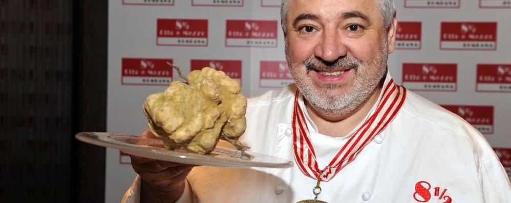 Umberto Bombana, mister 7 Stelle Lo chef bergamasco Re in Oriente