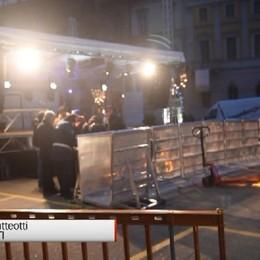 Capodanno in Piazza, tutto pronto per la festa in sicurezza