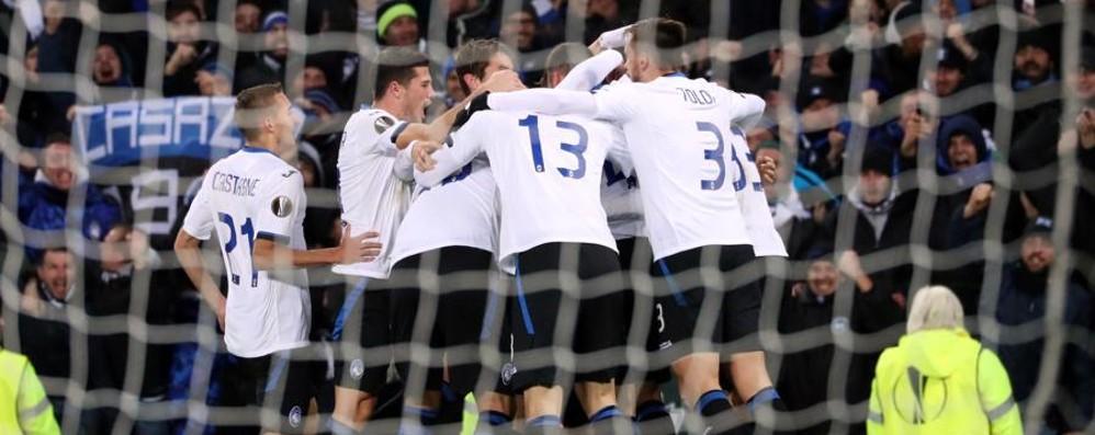 Atalanta, obiettivo Europa League  Ecco chi può incontrare a febbraio